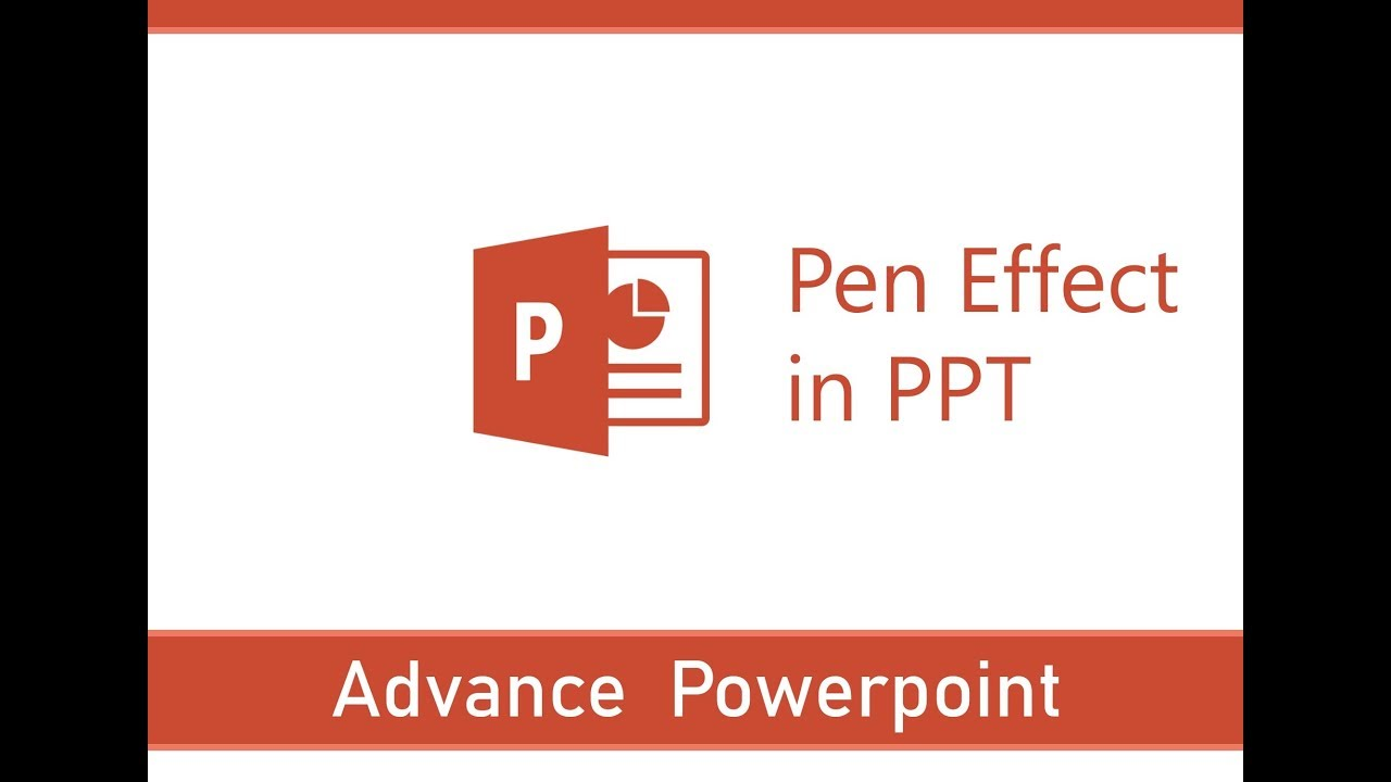 Writing with Pen Effect in PPT | Easy Steps for Writing with Pen Effect in  PPT - YouTube