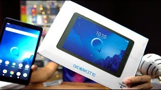 Alcatel 3T 10 Budget Android Tablet Unboxing, Feature Overview - Rs  6999 for VoLTE, 2GB RAM