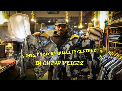 Branded clothes In cheapest Rate   KDA Karachi   export clothes store   WINTER SHOPPING IN KARACHI