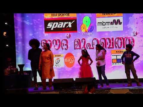 Uppum Mulakum Team  Qatar Stage Show