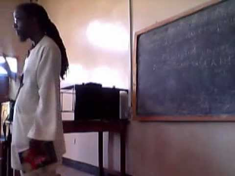 Afrikan Development Studies  2012  -11 - 20 LECTURE 2