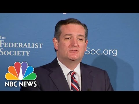 Ted Cruz Congratulates Jeff Sessions On Attorney General Appointment | NBC News