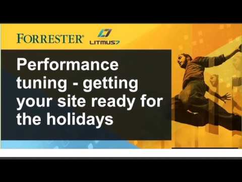 On Demand Webinar: eCommerce Performance in Holiday Readiness
