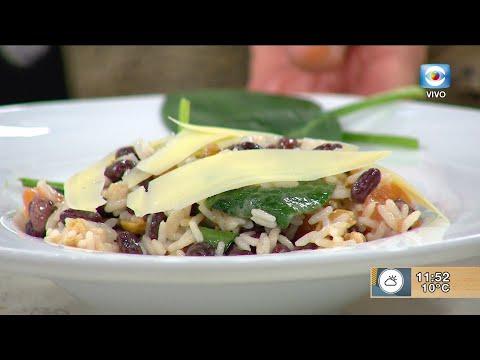 Ensalada de vegetales y legumbres