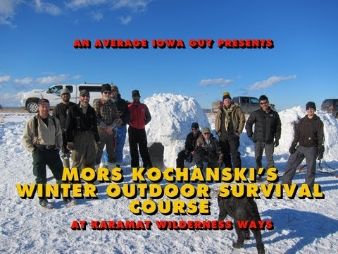 Mors Kochanski Winter Survival Course - Intro