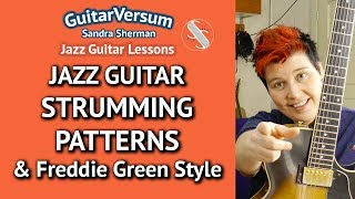 Jazz Guitar Strumming Patterns…