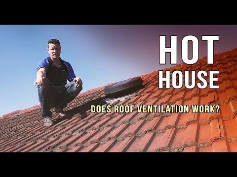 Does roof ventilation work?