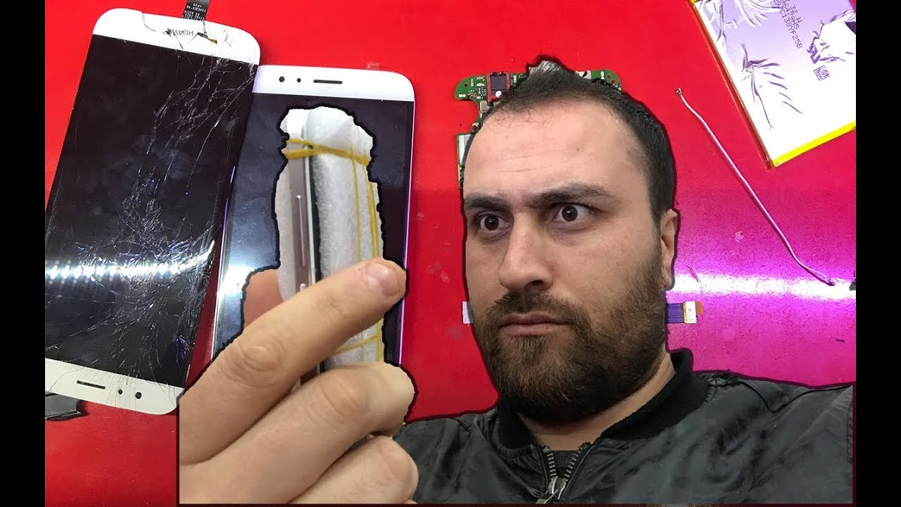 Huawei Cep Telefonu Ekranı Nasıl Değiştirilir ? (G8) - YouTube