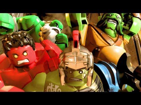 Lego Marvel Super Heroes 2 - All Cut Scenes Full Movie 4k Ulta HD