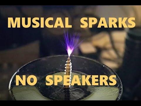 Homemade SSTC singing tesla coil