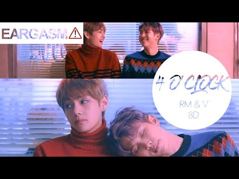 BTS V & Rap Monster - 4 O'Clock (네시) [8D USE HEADPHONE] 🎧