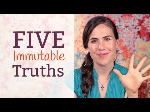 ❂ 5 Immutable Truths of Diet & Nutrition ❂