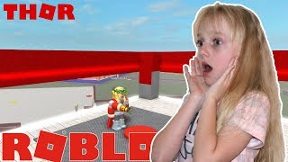Roblox Super Hero Tycoon. Becoming a Thor | Suziegameplay