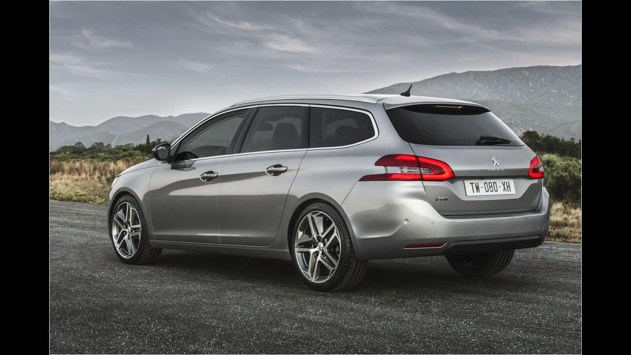 308 SW Peugeot - Новый универсал Пежо 308 2014-2015 - YouTube