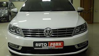 Автопарк Тест драйв Volkswagen CC 2012