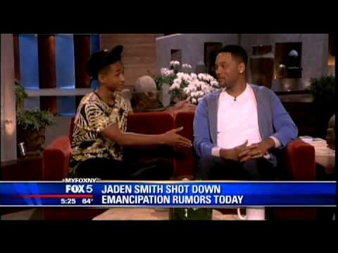 Jaden Smith Legal Emancipation Analysis with Attorney Nina Epstein on Fox 5 -5/15/13