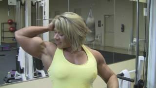Julie Bourassa, canadian bodybuilder, website view