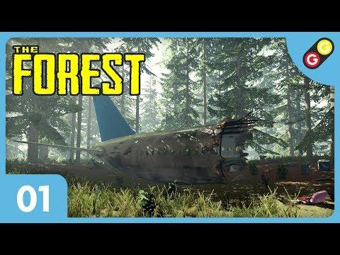 The Forest - Let's Play 3 #01 On S'écrase Sur L'île ! [FR]