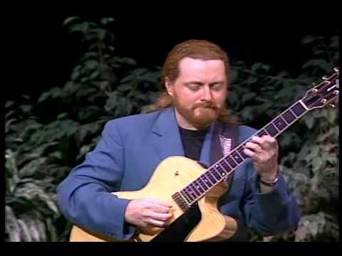 Martin Taylor performs