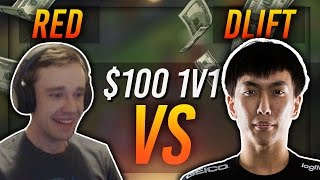 REDMERCY VS DOUBLELIFT | $100 1v1 SHOWDOWN!! - League of Legends