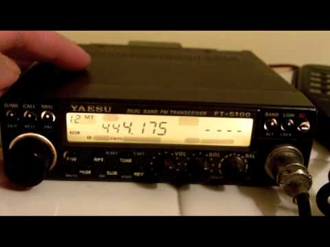how to program the yaesu ft 5100 with a local repeater youtube rh youtube com