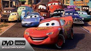Mix - Cars (2006) DvD Menu Walkthrough