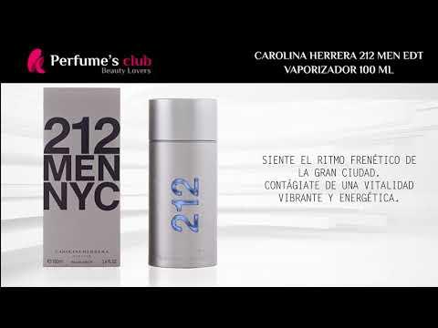 4cf443f64c 212 NYC MEN eau de toilette vaporizador Carolina Herrera Eau de Toilette  precio online - Perfumes Club