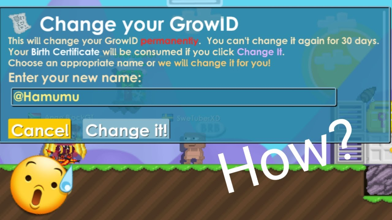 Growtopia i changed my name tog youtube growtopia i changed my name tog aiddatafo Image collections
