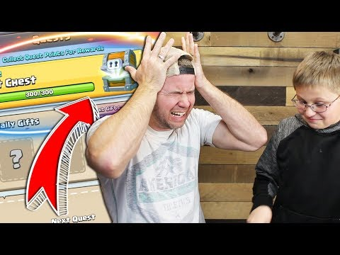 MY SON WRECKS my Giant Chest and MORE! - Clash Royale