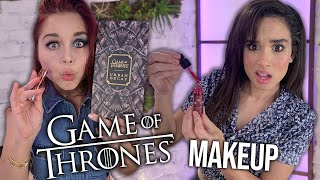 Trying the GAME OF THRONES Makeup Collection (Beauty Break)
