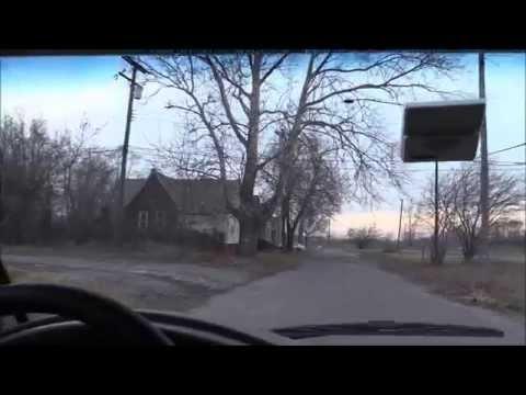 Southwest Detroit, Delray, Michigan. The Ghetto Fi