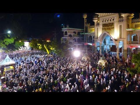 Malam Ke - 1 ♦ Safari Maulid 40 Malam @ Masjid Agung Jami' (Alun - Alun Kota Malang)