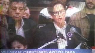 Susana Villaran Felicita a Luis Castañeda por su Victoria