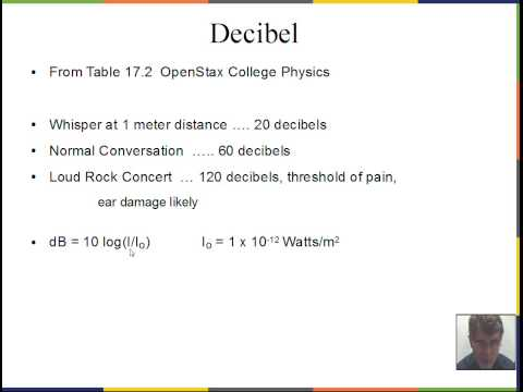 Sound velocity, wavelength, frequency, loudness, decibel, Doppler Effect