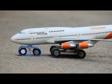 How To Make a airplane - toy aeroplane