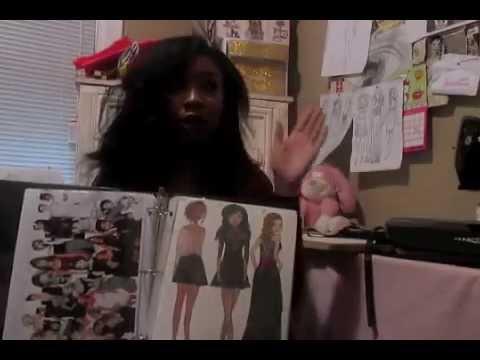 Fidm Fashion Design Entrance Project Youtube