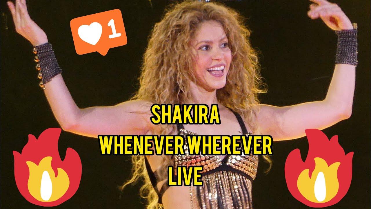 Download SHAKIRA WHENEVER WHEREVER LIVE MUNICH