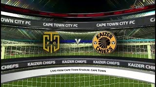 Absa Premiership 2017/2018 - Cape Town City vs Kaizer Chiefs