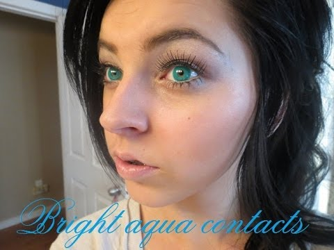 Natural Aquamarine Eyes