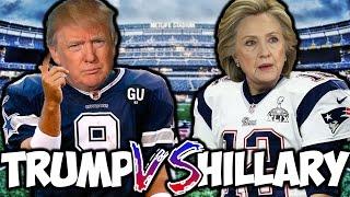 DONALD TRUMP VS. HILLARY CLINTON | MADDEN 17 CHALLENGE! MADDEN VERSUS