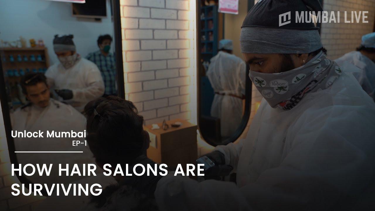 How hair salons are surviving| Unlock Mumbai | Mumbai Live