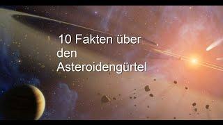 10 Fakten über den Asteroidengürtel