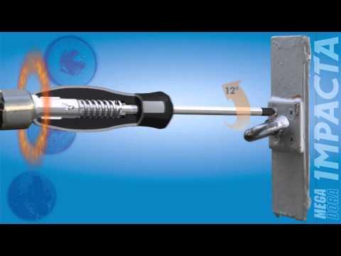 divers 65 mm Double Lames Schrauberbit-Set impact Control 9 pièces