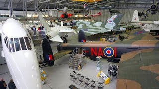 Duxford Air Museum tour - Concorde, Comet, Vulcan, Lancaster, Spitfire, TSR-2, Harrier and more...
