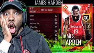96 OVR LIVE MASTER JAMES HARDEN REVEALED! NBA Live Mobile 18 Pack Opening Ep. 28