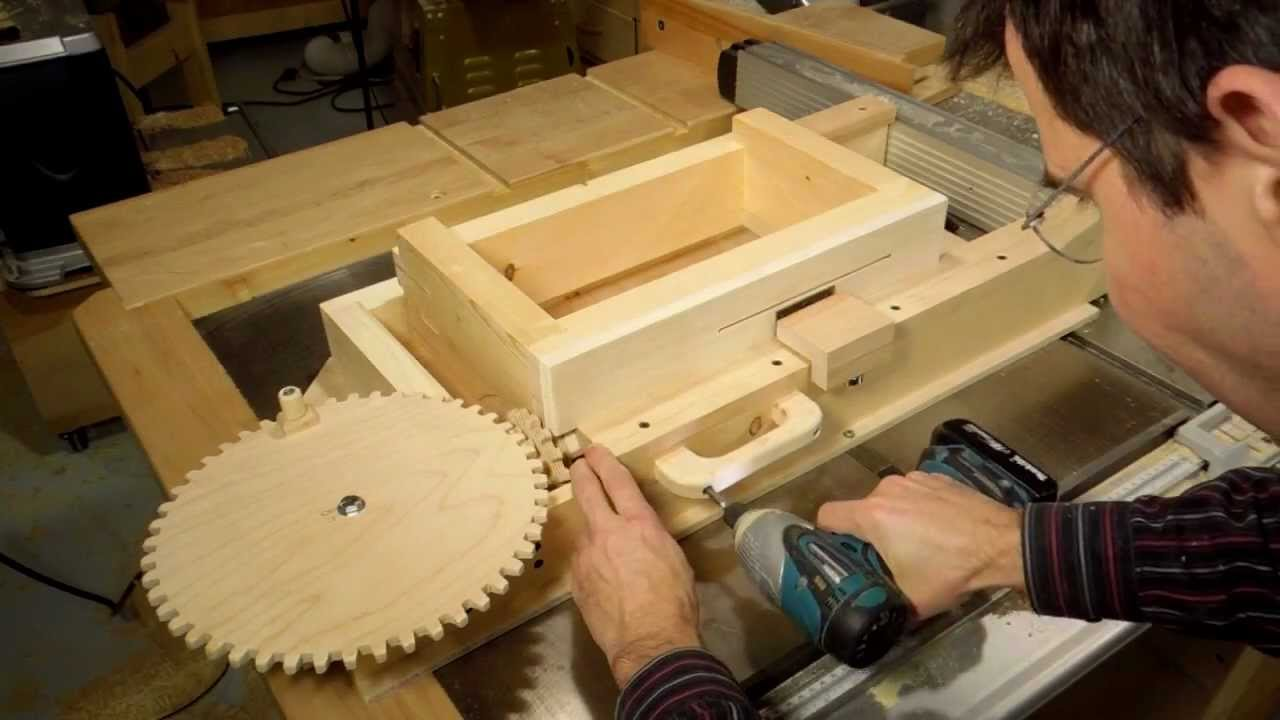 Building The Box Joint Jig Part 4 Of 4 Youtube