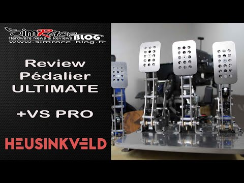 Heusinkveld Pro Pedals Review Part 1 by Sim Racing Garage