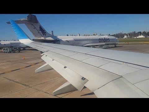 Aerolíneas Argentinas B737-800 LV-CTB (AR1532) Aeroparque-Córdoba