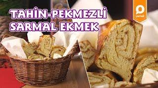 Tahin Pekmezli Sarmal Ekmek Tarifi - Onedio Yemek - Kahvaltı Tarifleri