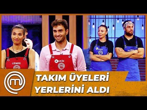 7.Haftanın Takımları Belirlendi   MasterChef Türkiye 29.Bölüm